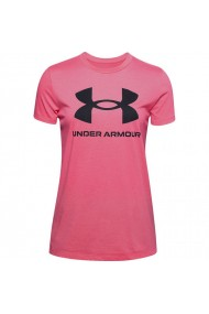 Tricou pentru femei Under armour  Live Sportstyle Graphic Ssc W 1356305 668