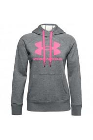Bluza pentru femei Under armour  Rival Fleece Logo Hoodie W 1356318 012