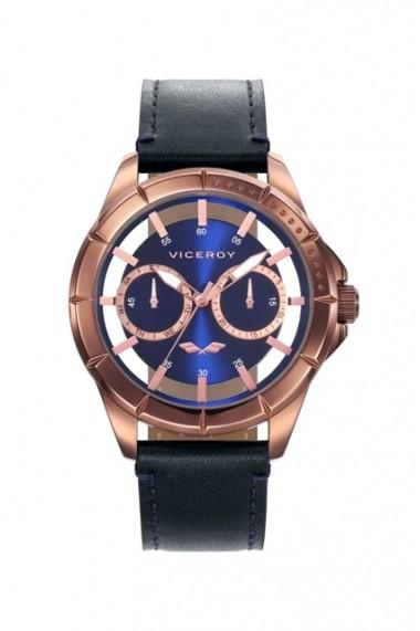 Ceas Viceroy cod 401049-37 albastru, negru
