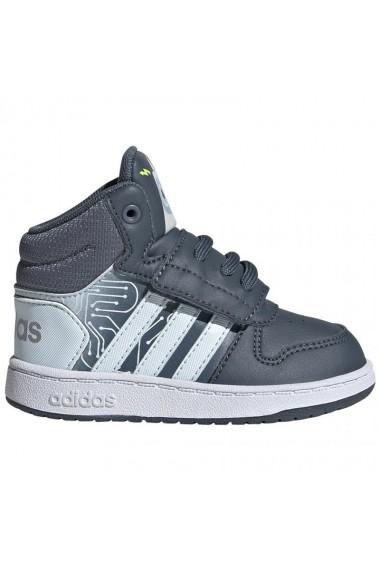 Pantofi sport pentru copii Adidas  Hoops Mid 2.0 I Jr FW4925