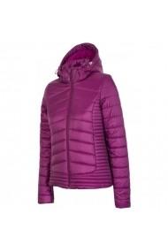 Jacheta pentru femei 4f  W H4Z17-KUD004 fiolet purpurowy