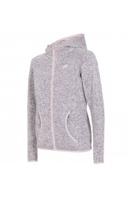 Bluza pentru femei 4f  W H4L18 PLD003 jasny szary