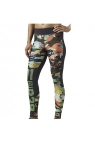 Pantaloni sport pentru femei Reebok  One Series ACTIVChill Crazy Camo W AJ0634