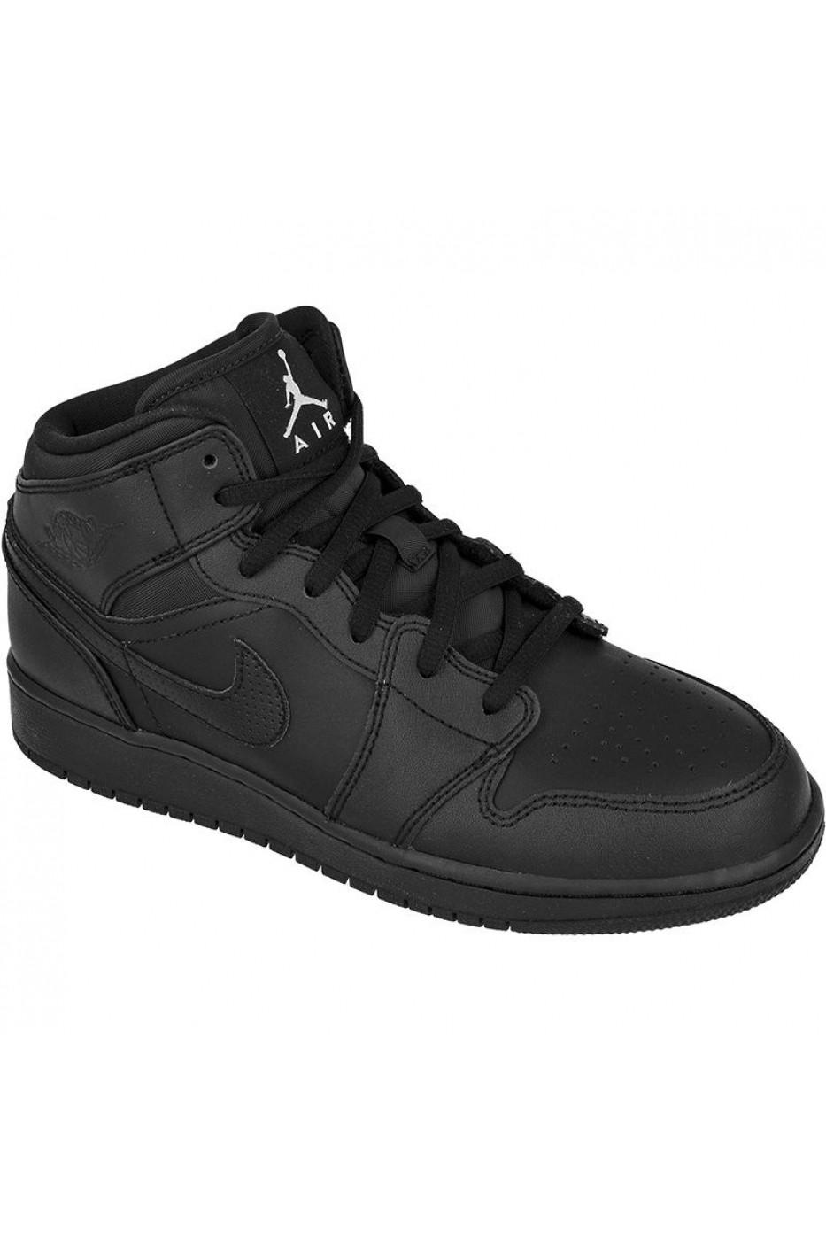 60f274dd50ddc7 Pantofi sport pentru copii Nike jordan ir Jordan 1 Mid Jr 554725-044 ...
