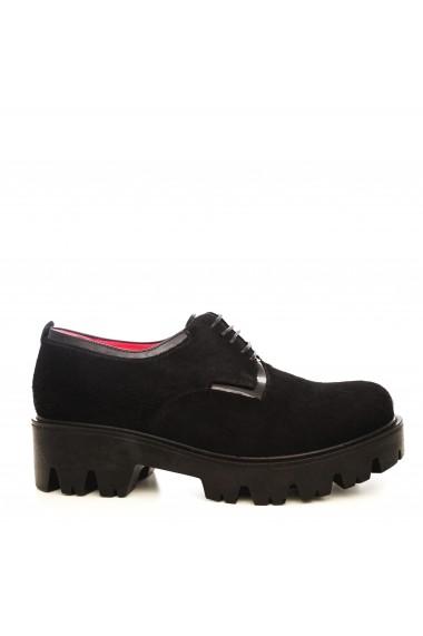 Pantofi CONDUR by alexandru 701-ponei negru