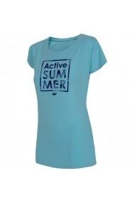 Tricou pentru femei 4f  W H4L19-TSD011 34S jasny niebieski