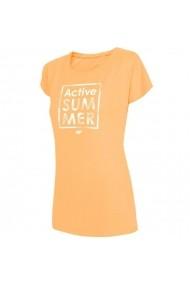 Tricou pentru femei 4f  W H4L19-TSD011 71M żółty