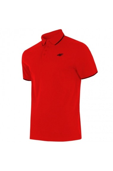 Tricou pentru barbati 4f  M H4L19-TSM024 czerwona
