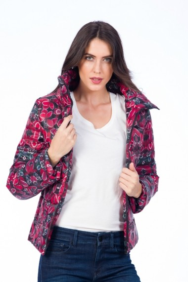 Geaca Be You 9371F fucsia