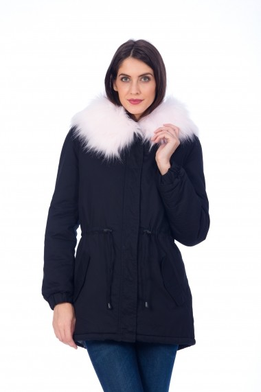 Parka Be You 9374negru