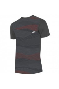 Tricou pentru barbati 4f  M H4L19-TSMF005 22S antracyt