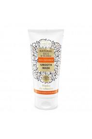 Masca de par Vellie Natural Oils of the World, cu ulei de Macadamia pentru par subtire, 200ml