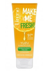 Scrub facial Make Me Fresh cu extract din Litchii si Yuzu, 75ml