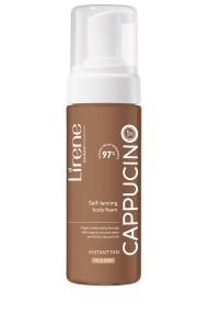 Lirene Spuma autobronzanta pentru corp cu apa organica de cocos CAPPUCINO, 150ml