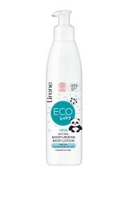 Lotiune de corp hidratanta Eco Baby cu 98% ingrediente naturale pentru ingrijirea zilnica incepand cu prima zi de viata, 200ml