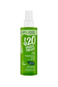 Spray Tonic Under Twenty cu prebiotic, salvie, brusture si biotina pentru pielea sensibila cu imperfectiuni vizibile, 200ml