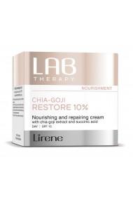 Crema de zi LAB Therapy nutritiva, hranitoare si reparatoare cu extract de chia-goji si acid succinic, SPF 15, 50ml