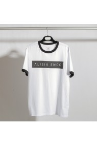 Tricou ALISIA ENCO bumbac organic Alb