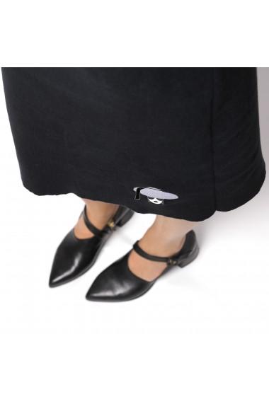 Rochie de zi ALISIA ENCO TIFFANY Neagra