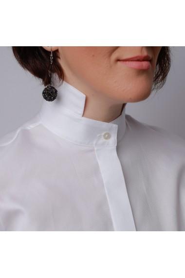 Camasa alba ALISIA ENCO cu mansete butoni