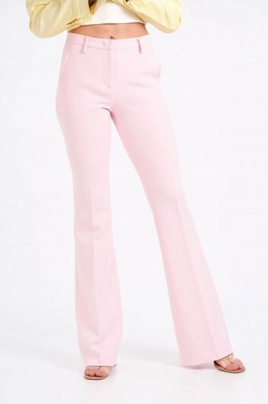 Pantaloni Amavii evazati Roz