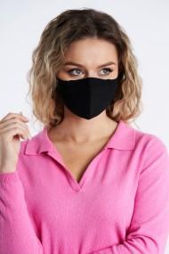 Masca tricotata reutilizabila Negru