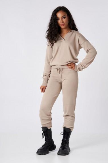 Pantaloni Amavi din lana jogging fit Maro