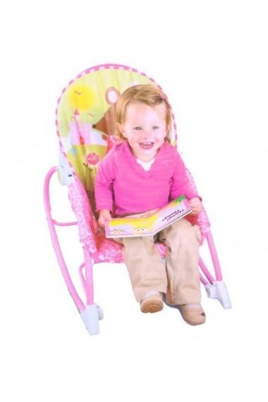Scaun si Balansoar 2in1 Malplay baby pentru bebelusi 0 - 18 kg