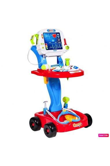 Ecograf de jucarie MalPlay cu sunete, lumini si accesorii, albastru