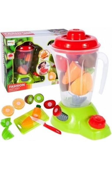Blender de jucarie MalPlay cu sunete,lumini,fructe si legume cu scai,cutit si tocator