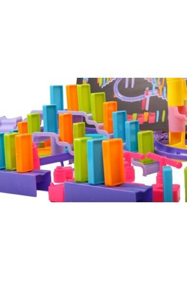Joc de indemanare Malplay Domino cu accesorii 158 piese