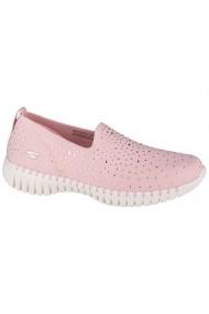 Pantofi sport casual pentru femei Skechers Go Walk Smart-Bedazzle 124053-LTPK