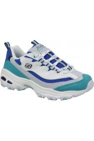 Pantofi sport casual pentru femei Skechers D Lites Second Chance 13146-WBL