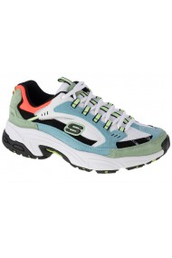 Pantofi sport casual pentru femei Skechers Stamina-Sugar Rock 13452-BLGR