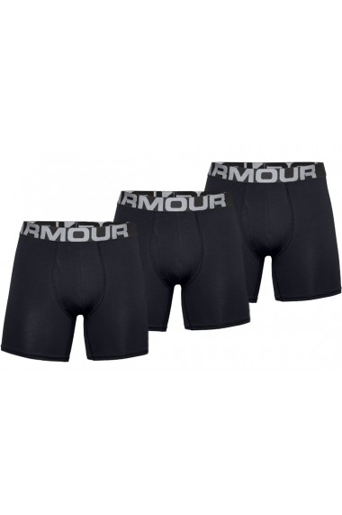 Boxeri pentru barbati Under Armour Charged Cotton 6IN 3 Pack 1363617-001