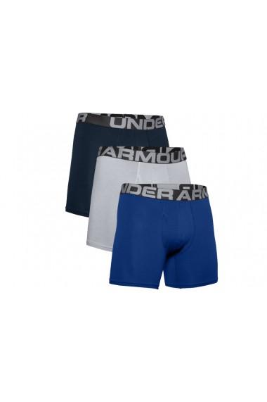 Boxeri pentru barbati Under Armour Charged Cotton 6IN 3 Pack 1363617-400