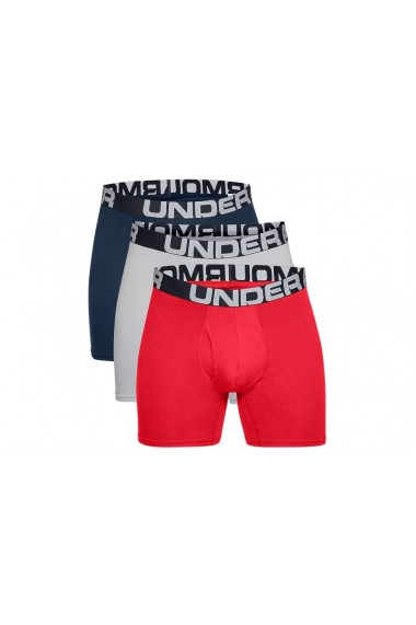 Boxeri pentru barbati Under Armour Charged Cotton 6IN 3 Pack 1363617-600