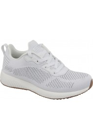 Pantofi sport casual pentru femei Skechers Bobs Squad Glam 31347-WHT