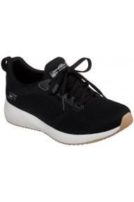 Pantofi sport casual pentru femei Skechers Bobs Squad 31362-BLK