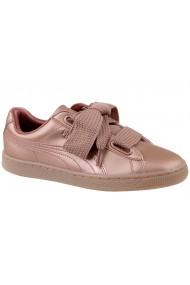 Pantofi sport casual pentru femei Puma Basket Heart Copper 365463-01