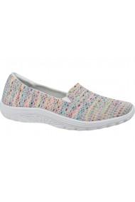Pantofi sport casual pentru femei Skechers Reggae Fest-Wicker 49291-WHT