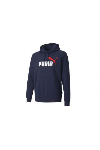 Hanorac pentru barbati Puma ESS 2 Col Hoody FL Big Logo 598014-06