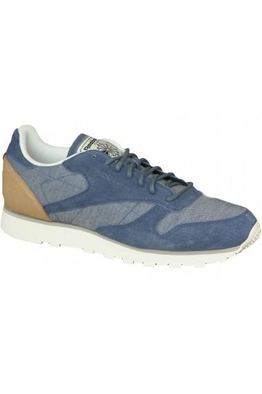 Pantofi sport pentru barbati Reebok CL Leather Fleck AQ9722