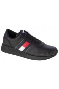 Pantofi sport pentru barbati Tommy Hilfiger Flexi Perf Leather Runner EM0EM00580-BDS