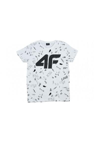 Tricou pentru barbati 4F Boy`s T-shirt HJL20-JTSM002-10S