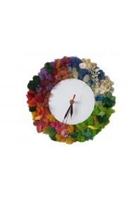 Ceas decorat cu licheni ''Anotimpurile''