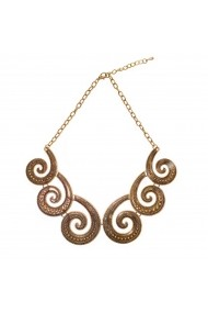 Set cercei si colier elegant Gold Infinity APT for YOU