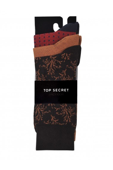 Sosete Top Secret APT-SPP4076BR