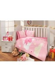 Set lenjerie de pat pentru copii Hobby ASR-113HBY0028 Multicolor