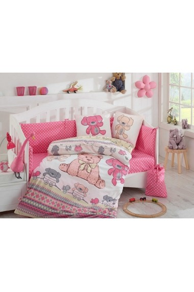 Set lenjerie de pat pentru copii Hobby ASR-113HBY0041 Multicolor